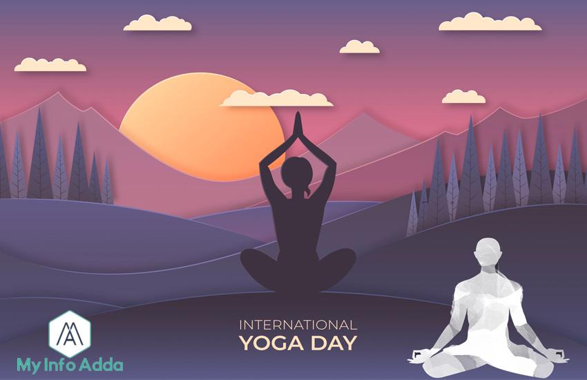 yoga day my info adda