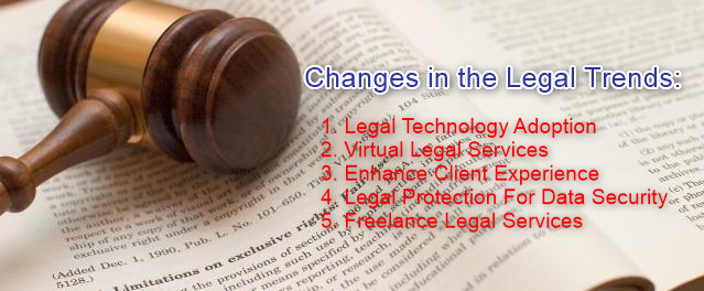Changes in the Legal Trends
